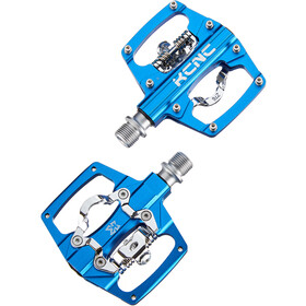 KCNC AM Trap Pedali clipless Dual Side, blu